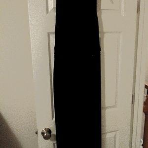 New Ladies Anne Klein Black Evening Gown Size 14